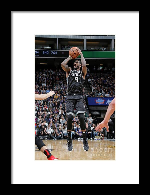 Nba Pro Basketball Framed Print featuring the photograph Iman Shumpert by Rocky Widner
