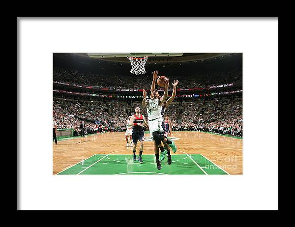 Playoffs Framed Print featuring the photograph Isaiah Thomas by Ned Dishman