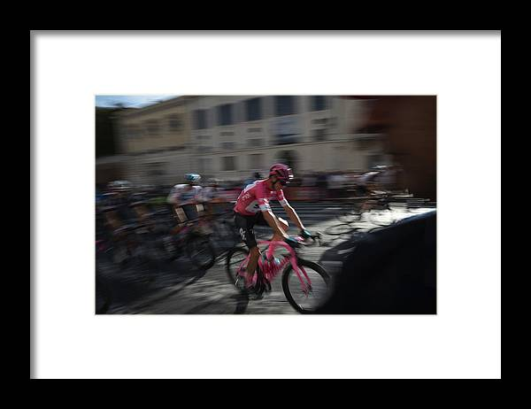 People Framed Print featuring the photograph Italian Daily News - May by Antonio Masiello