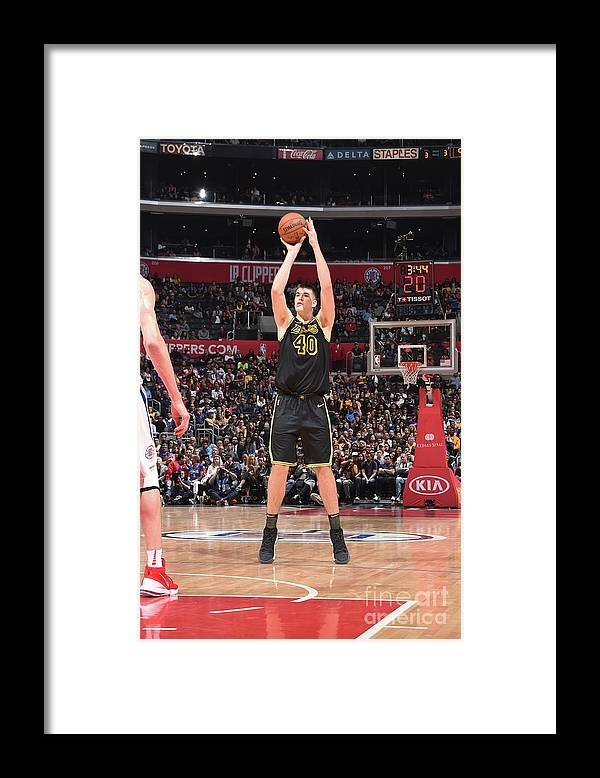 Sports Ball Framed Print featuring the photograph Ivica Zubac by Adam Pantozzi