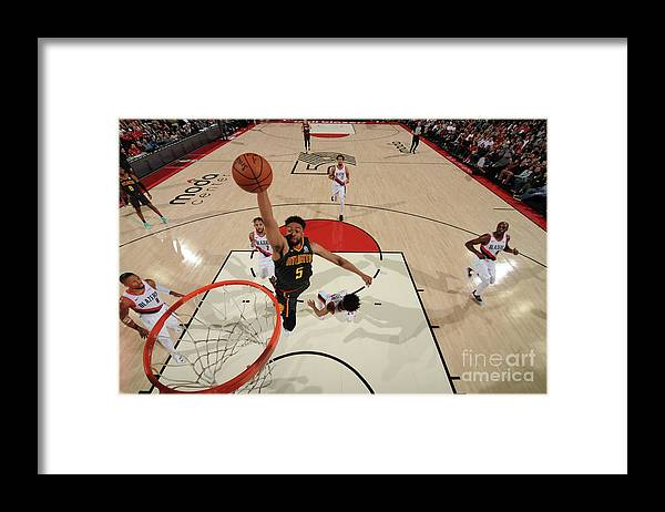 Nba Pro Basketball Framed Print featuring the photograph Jabari Parker by Cameron Browne