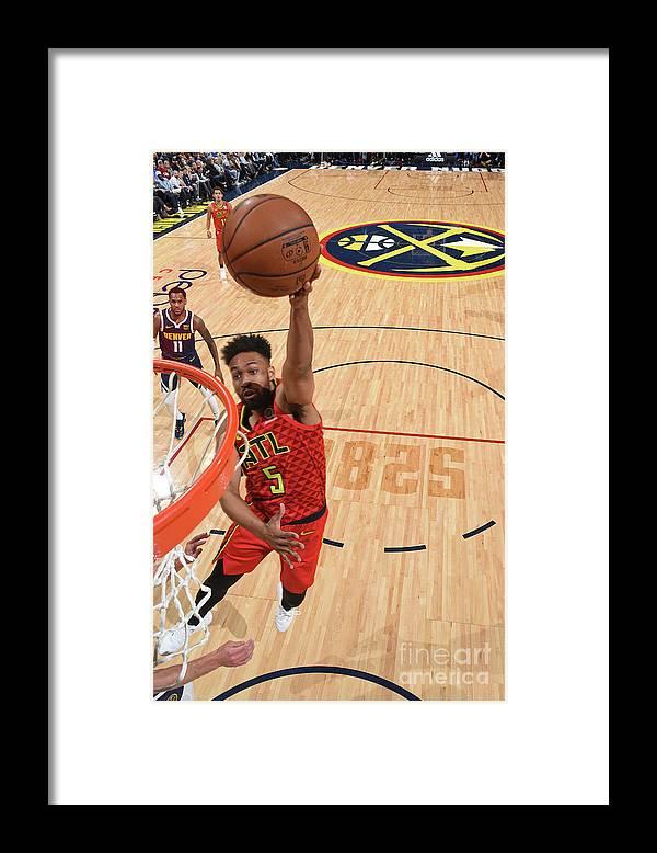 Nba Pro Basketball Framed Print featuring the photograph Jabari Parker by Garrett Ellwood
