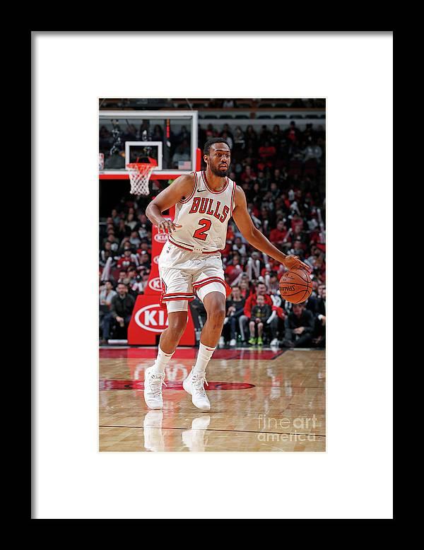 Nba Pro Basketball Framed Print featuring the photograph Jabari Parker by Jeff Haynes