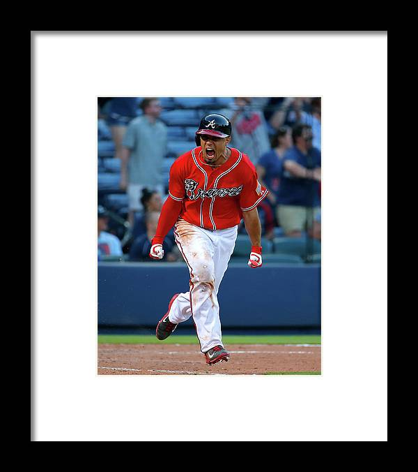 Atlanta Framed Print featuring the photograph Jace Peterson by Kevin C. Cox
