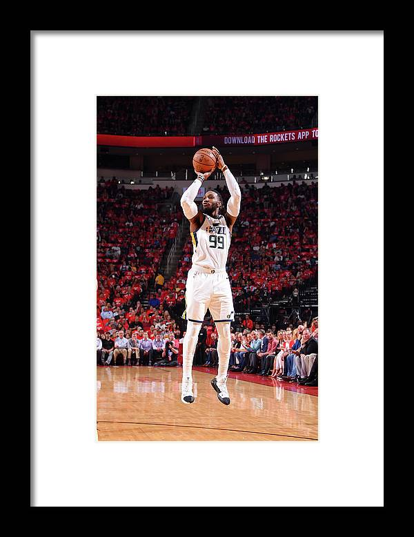 Playoffs Framed Print featuring the photograph Jae Crowder by Bill Baptist