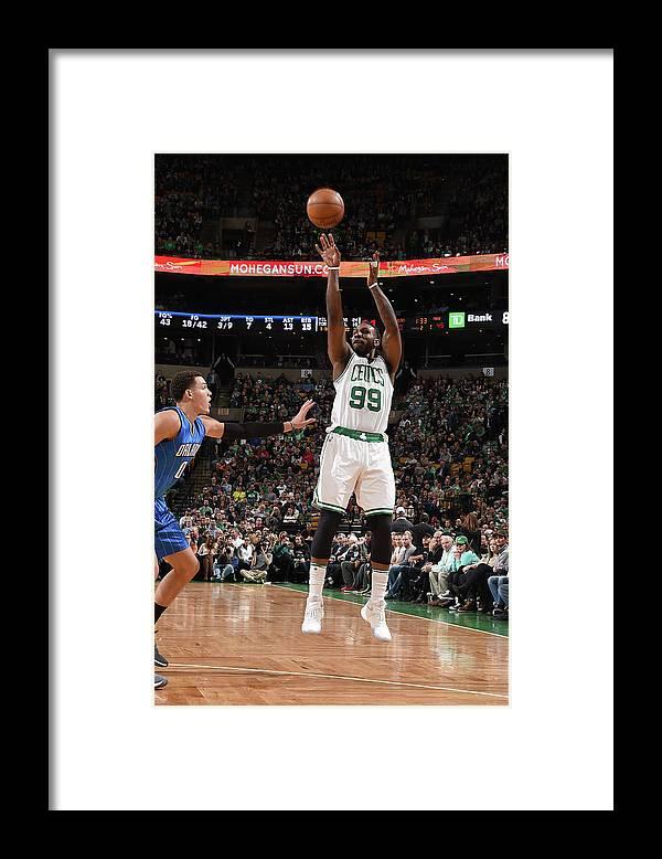 Nba Pro Basketball Framed Print featuring the photograph Jae Crowder by Steve Babineau