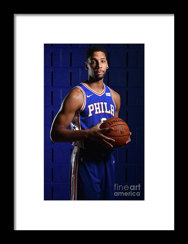 Media Day Framed Print featuring the photograph Jahlil Okafor by Jesse D. Garrabrant
