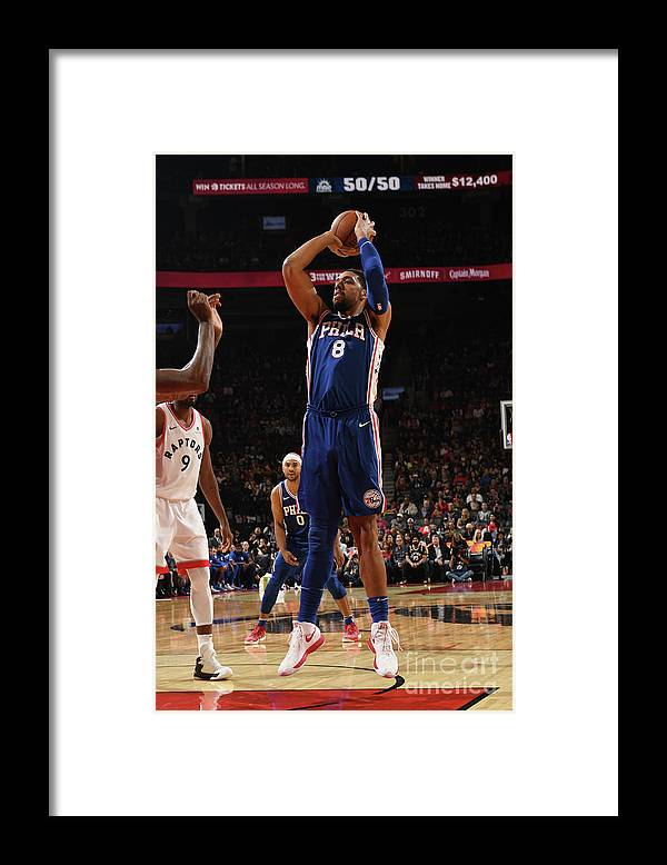 Nba Pro Basketball Framed Print featuring the photograph Jahlil Okafor by Ron Turenne