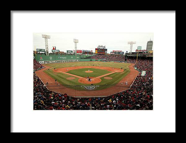American League Baseball Framed Print featuring the photograph Jake Peavy by Jared Wickerham