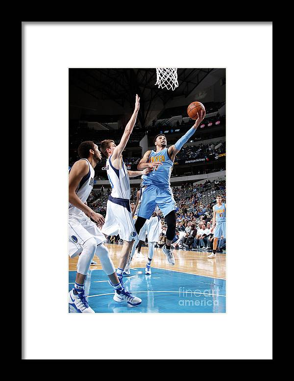Nba Pro Basketball Framed Print featuring the photograph Jamal Murray by Glenn James