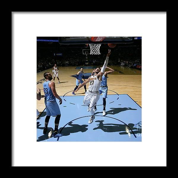 Nba Pro Basketball Framed Print featuring the photograph Jamal Murray by Joe Murphy