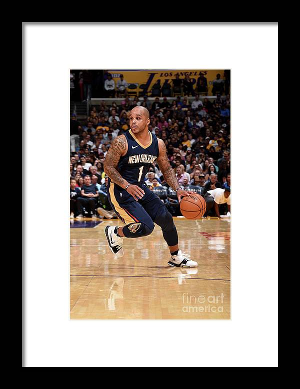Nba Pro Basketball Framed Print featuring the photograph Jameer Nelson by Andrew D. Bernstein