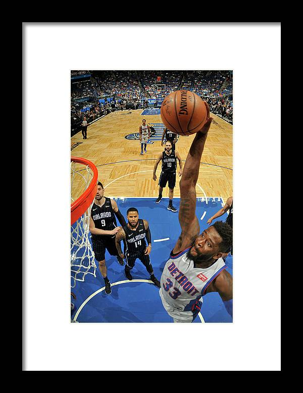 Nba Pro Basketball Framed Print featuring the photograph James Ennis by Fernando Medina