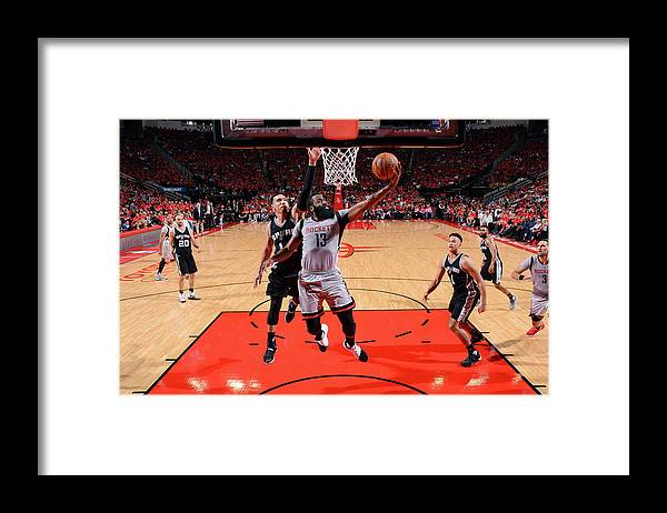 Playoffs Framed Print featuring the photograph James Harden by Jesse D. Garrabrant