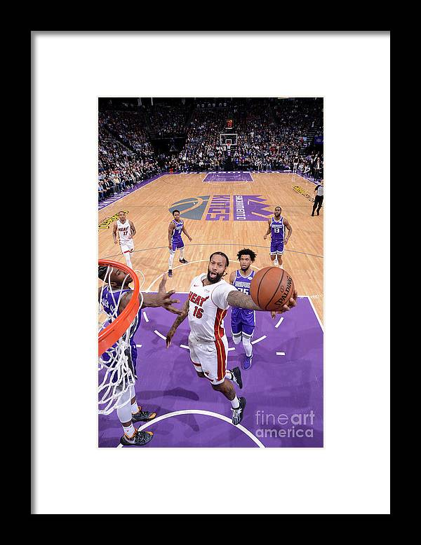 Nba Pro Basketball Framed Print featuring the photograph James Johnson by Rocky Widner