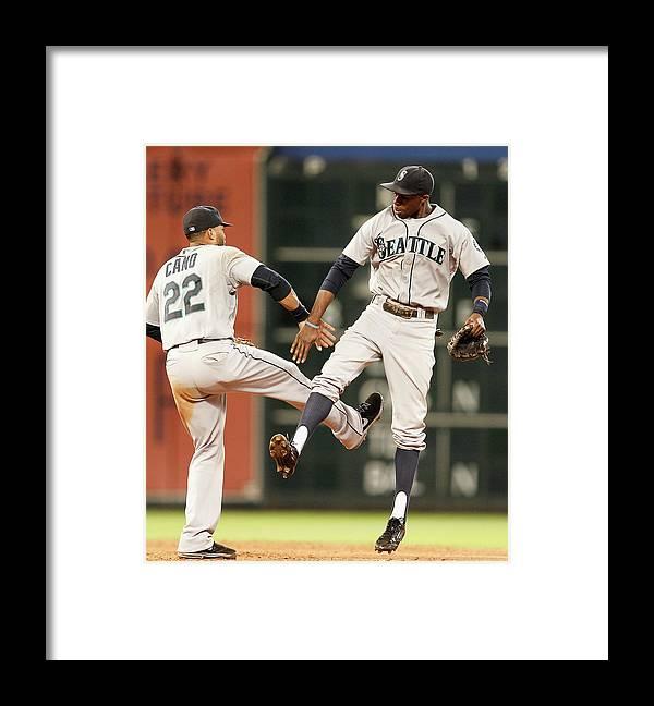 American League Baseball Framed Print featuring the photograph James Jones by Bob Levey