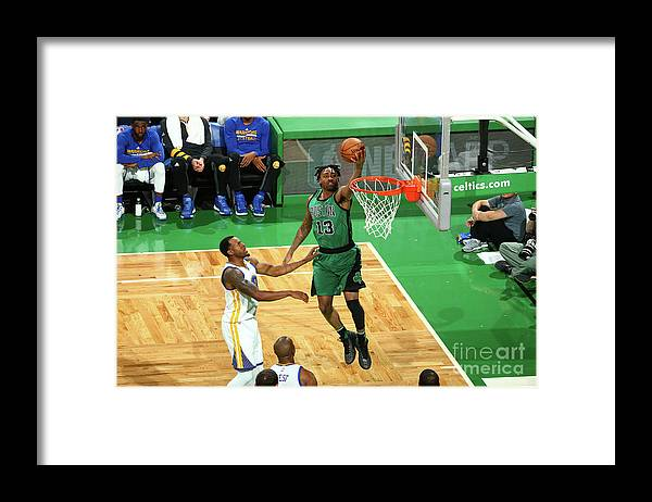 Nba Pro Basketball Framed Print featuring the photograph James Young by Nathaniel S. Butler