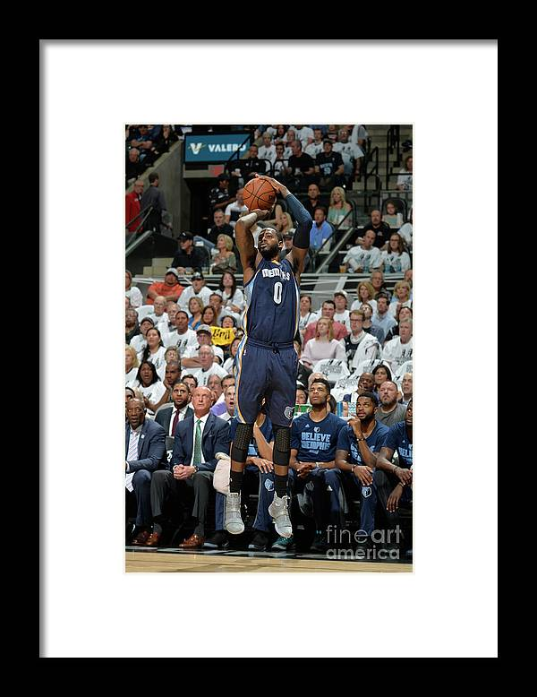 Playoffs Framed Print featuring the photograph Jamychal Green by Mark Sobhani