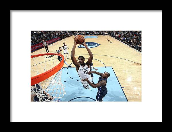 Nba Pro Basketball Framed Print featuring the photograph Jaren Jackson by Joe Murphy