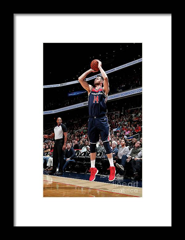 Nba Pro Basketball Framed Print featuring the photograph Jason Smith by Ned Dishman