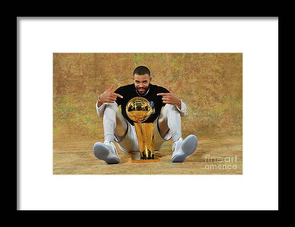 Playoffs Framed Print featuring the photograph Javale Mcgee by Jesse D. Garrabrant