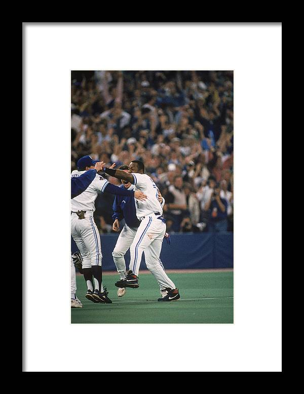 Toronto Framed Print featuring the photograph Jay Rogers by Mlb Photos