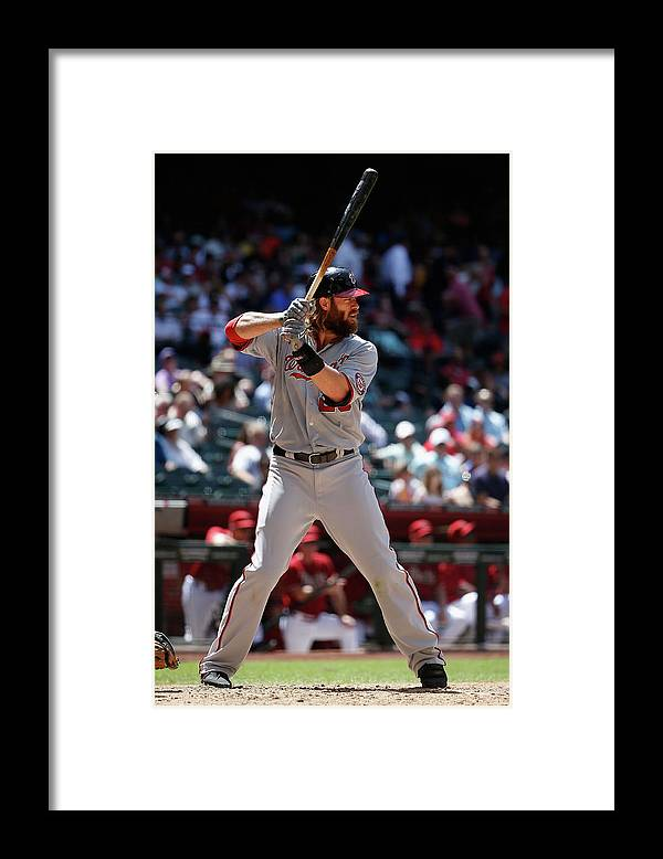 American League Baseball Framed Print featuring the photograph Jayson Werth by Christian Petersen