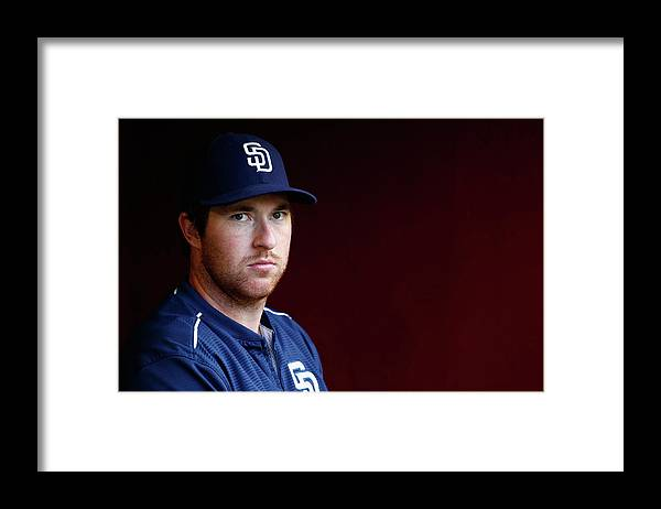 People Framed Print featuring the photograph Jedd Gyorko by Christian Petersen
