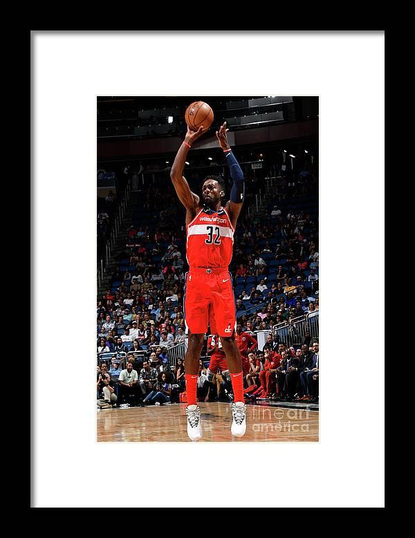 Nba Pro Basketball Framed Print featuring the photograph Jeff Green by Fernando Medina