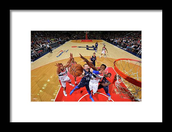 Nba Pro Basketball Framed Print featuring the photograph Jeff Green by Jesse D. Garrabrant