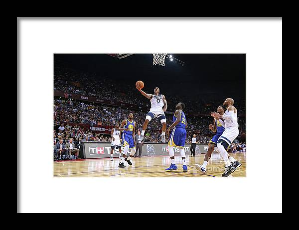 Event Framed Print featuring the photograph Jeff Teague by David Sherman