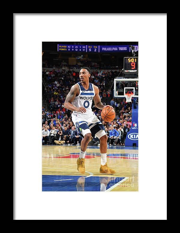 Nba Pro Basketball Framed Print featuring the photograph Jeff Teague by Jesse D. Garrabrant