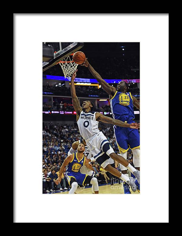 Event Framed Print featuring the photograph Jeff Teague by Noah Graham