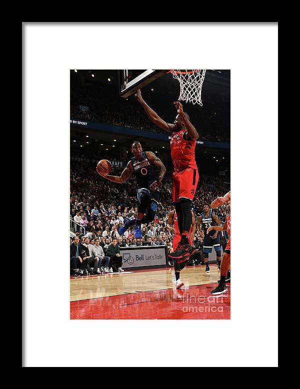 Nba Pro Basketball Framed Print featuring the photograph Jeff Teague by Ron Turenne