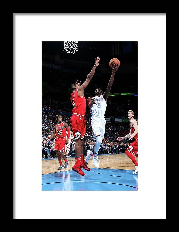 Nba Pro Basketball Framed Print featuring the photograph Jerami Grant by Layne Murdoch
