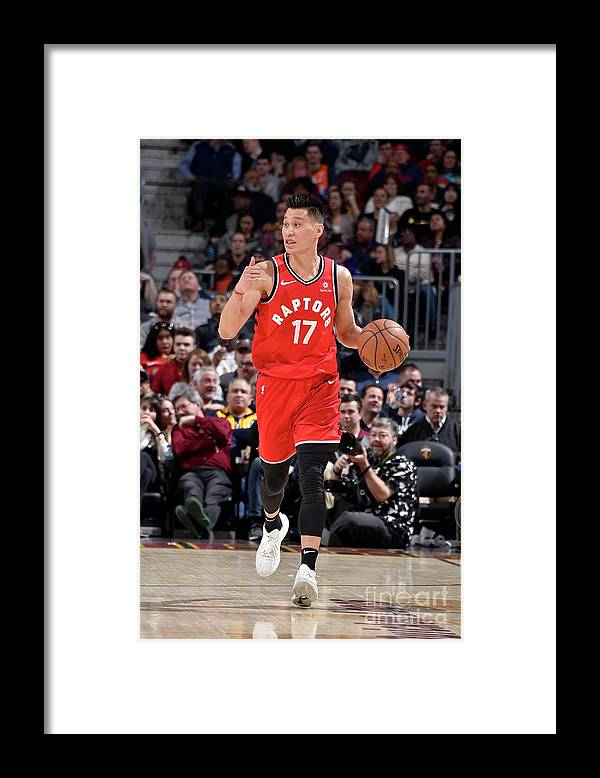 Nba Pro Basketball Framed Print featuring the photograph Jeremy Lin by David Liam Kyle