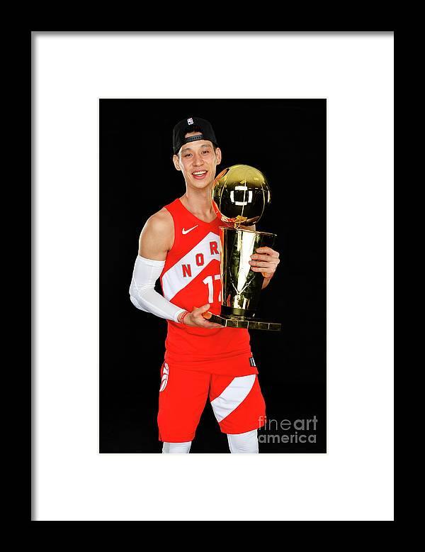 Playoffs Framed Print featuring the photograph Jeremy Lin by Jesse D. Garrabrant