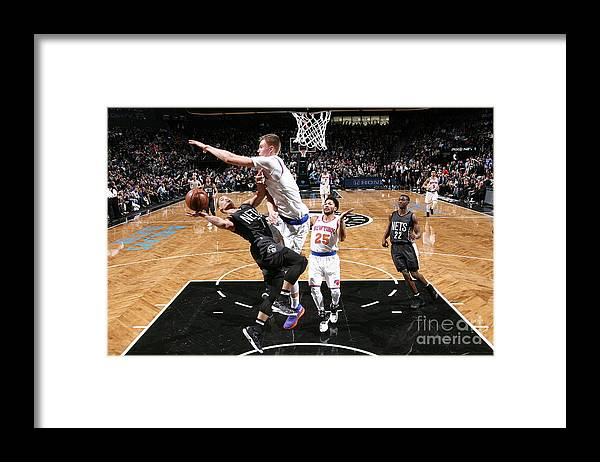 Nba Pro Basketball Framed Print featuring the photograph Jeremy Lin by Nathaniel S. Butler