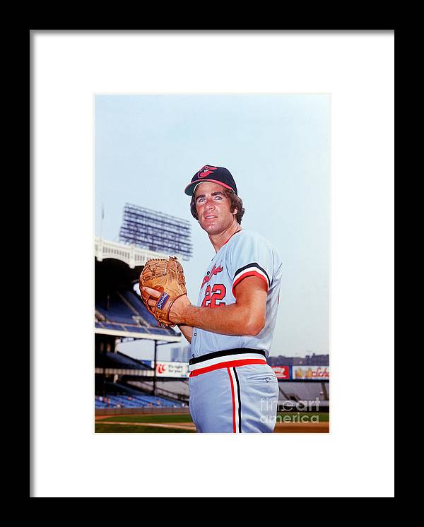 People Framed Print featuring the photograph Jim Palmer by Lou Requena