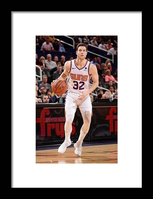 Nba Pro Basketball Framed Print featuring the photograph Jimmer Fredette by Barry Gossage