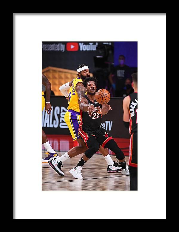 Playoffs Framed Print featuring the photograph Jimmy Butler by Garrett Ellwood