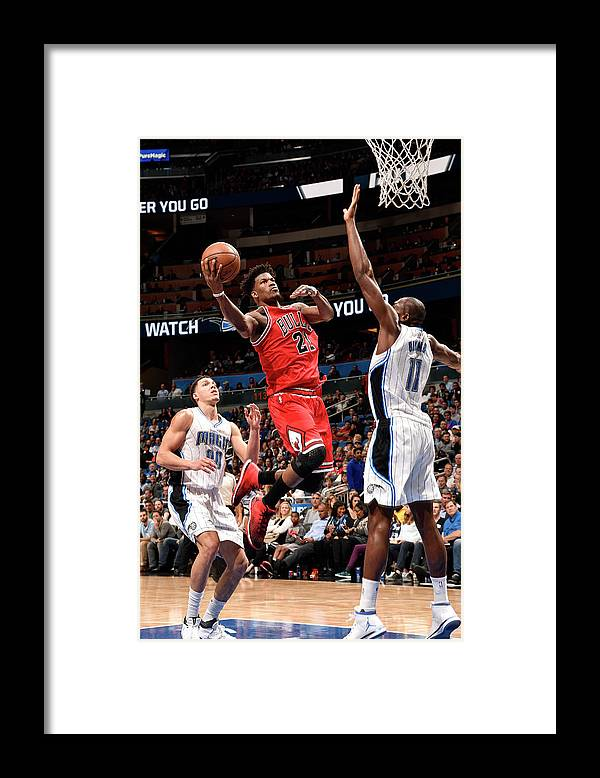 Nba Pro Basketball Framed Print featuring the photograph Jimmy Butler by Gary Bassing