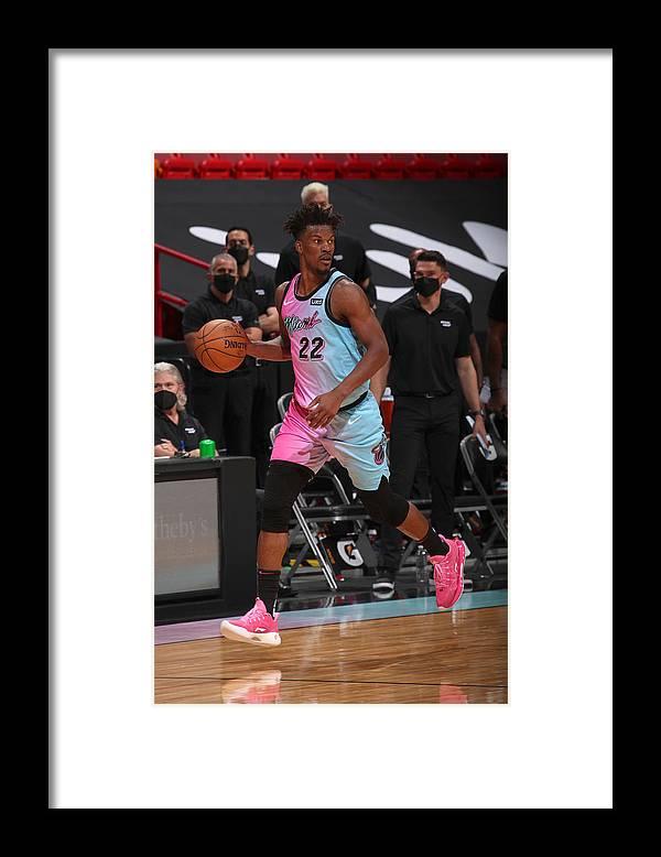 Nba Pro Basketball Framed Print featuring the photograph Jimmy Butler by Issac Baldizon