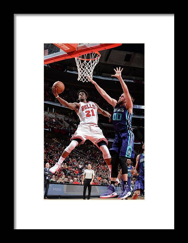 Nba Pro Basketball Framed Print featuring the photograph Jimmy Butler by Randy Belice