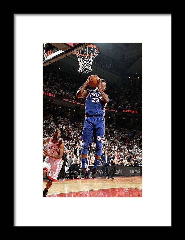 Playoffs Framed Print featuring the photograph Jimmy Butler by Ron Turenne