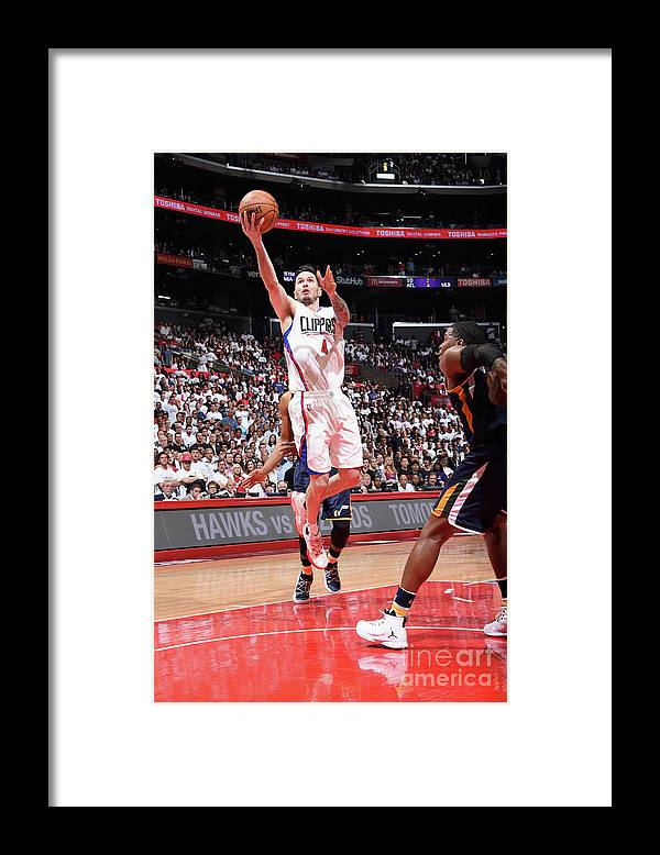 Playoffs Framed Print featuring the photograph J.j. Redick by Andrew D. Bernstein