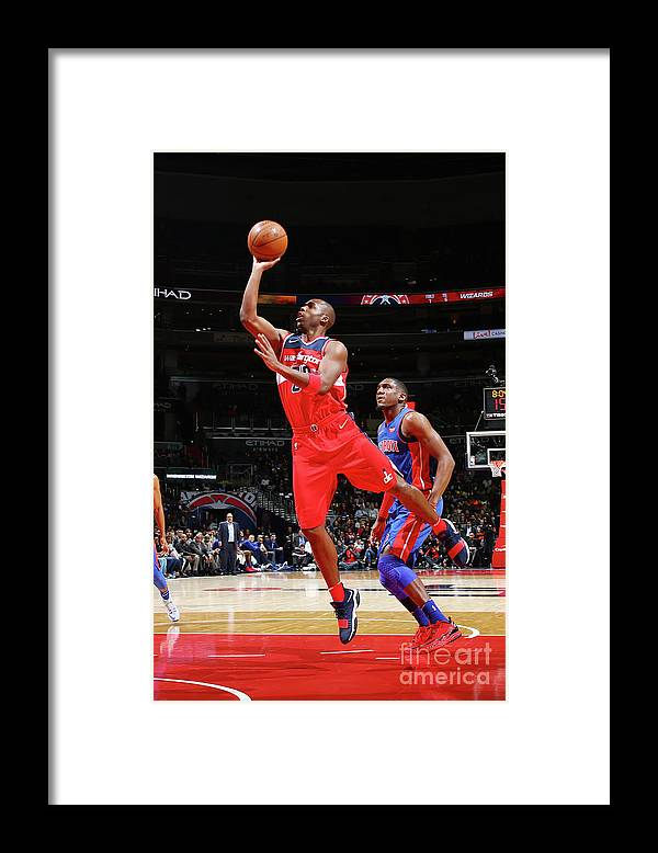 Jodie Meeks Framed Print featuring the photograph Jodie Meeks by Ned Dishman