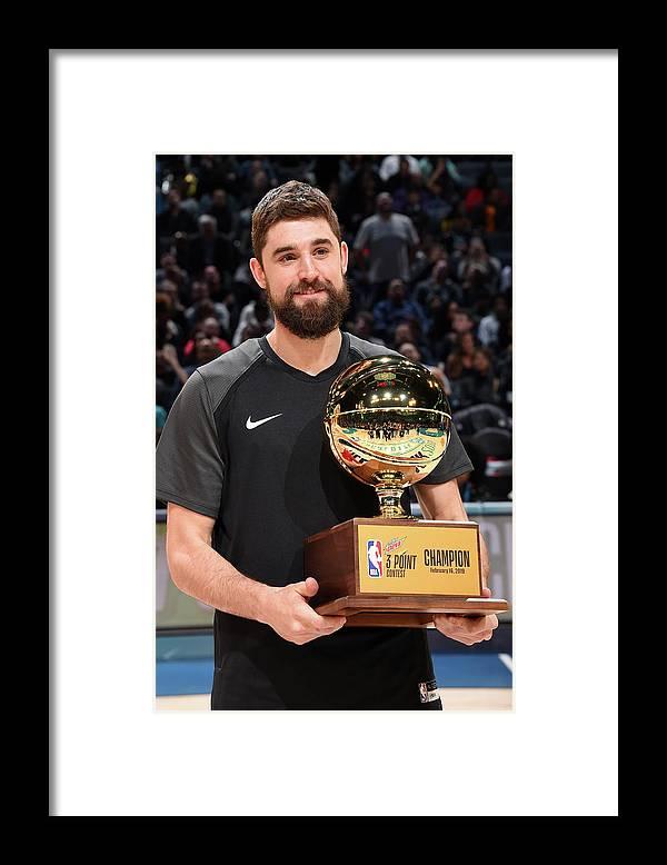 Nba Pro Basketball Framed Print featuring the photograph Joe Harris by Andrew D. Bernstein