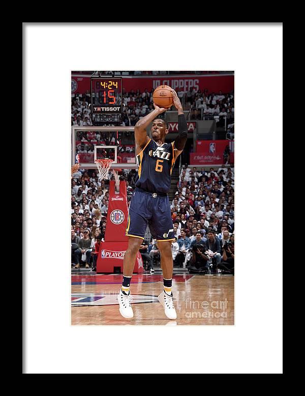 Playoffs Framed Print featuring the photograph Joe Johnson by Andrew D. Bernstein