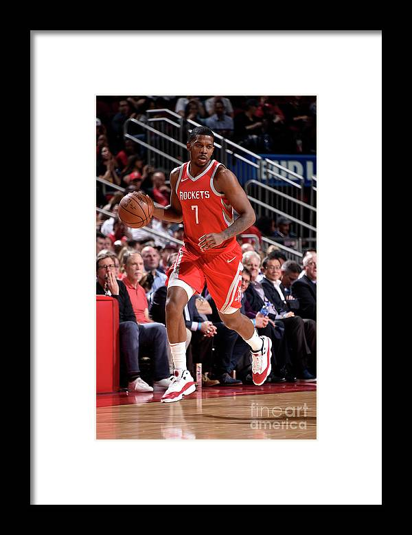 Nba Pro Basketball Framed Print featuring the photograph Joe Johnson by Bill Baptist